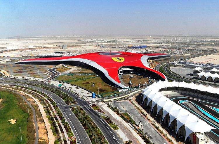 Travel From Dubai To Ferrari World Abu Dhabi