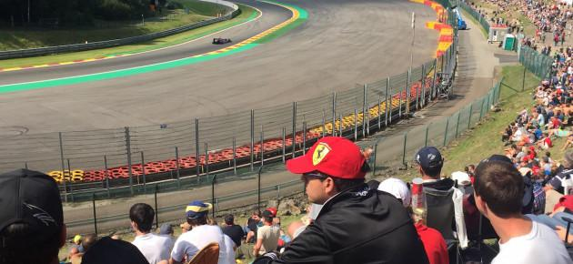 Trackside at Spa Francorchamps – 2018 Belgian Grand Prix