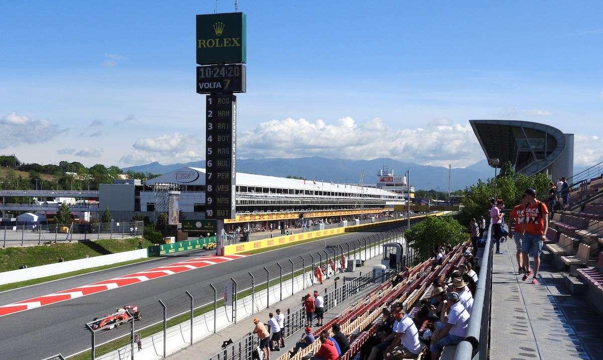 Getting There Around Spanish Grand Prix Formula 1 Circuit Diagrams Trackside 2018