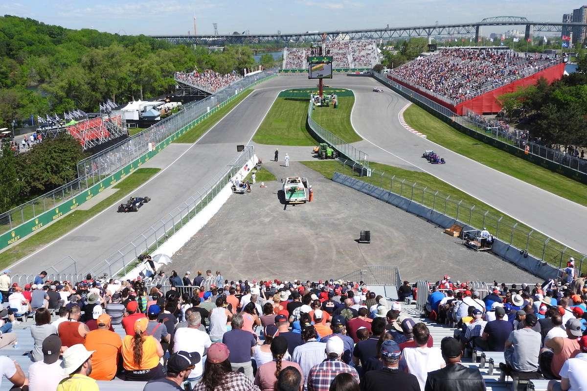 Grandstand 11 Formula 1 Grand Prix Du Canada Circuit Gilles Villeneuve