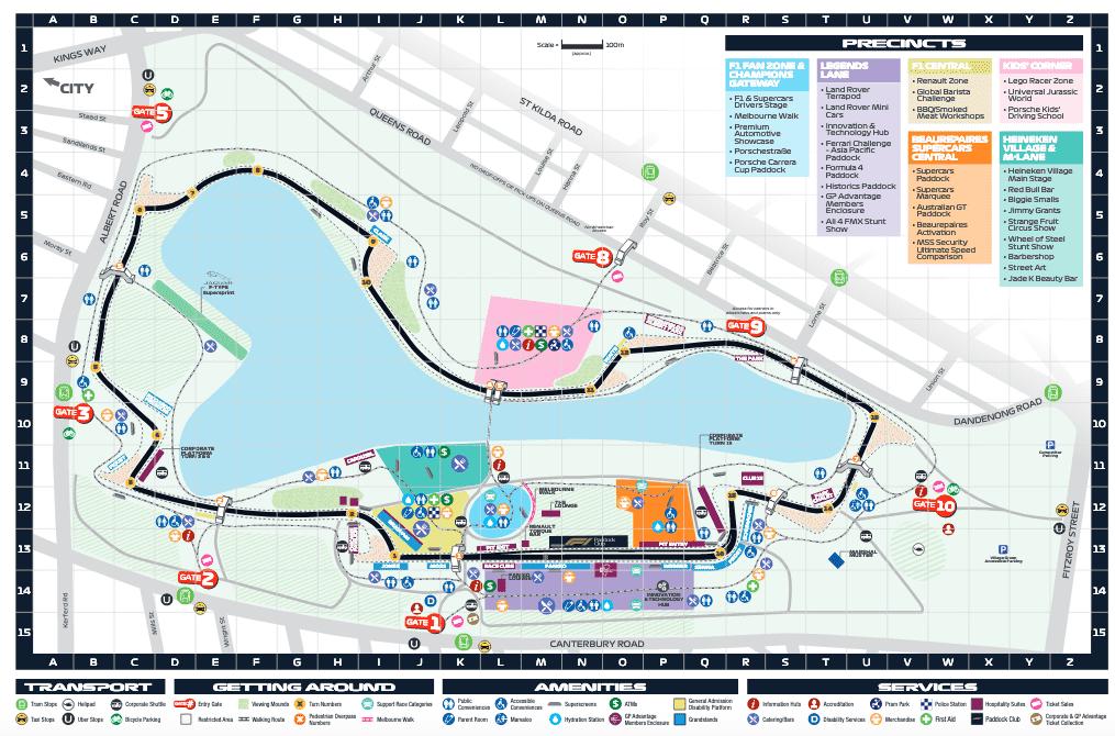 Trackside - 2019 Australian Grand Prix | F1Destinations com